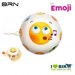 Campanello Emoji Spensierato 58 mm BRN - 1