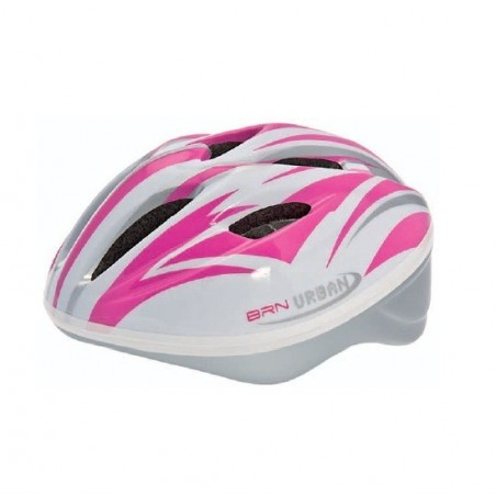BRN Urban Helmet white / pink ML