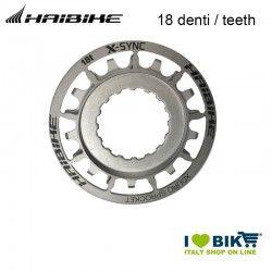 18 denti Bosch Xduro Pignone E-Bike argento