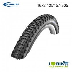 "Copertone SCHWALBE Mad Mike HS 137 profilo BMX 16x2.125"" 57-305"