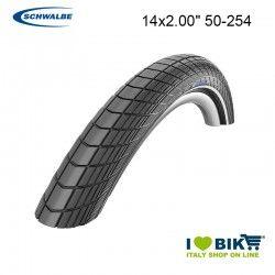 Tire 14x2.00 Schwalbe Big Apple HS430 LSkin Black Reflex