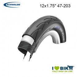 Tire for buggies 12x1.75 Schwalbe Kid Plus HS 413  Black