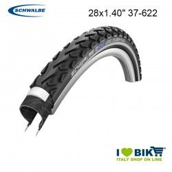 Tire 28x1.40 Schwalbe Tour Plus HS450 TwinSkin Black