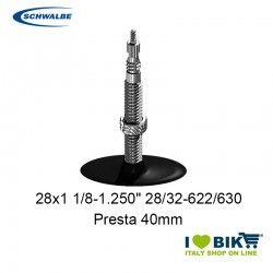 "Camera d'aria 28x1 1/8-1.250"" 28/32-622/630 Schwalbe SV 16 SV40mm"