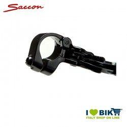 Pair Brake Levers MTB V-BRAKE 3 fingers openable clamp black aluminium