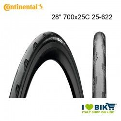 Grand Prix 5000 28 700x25C 25-622 Continental Tubeless Folding Cover Black