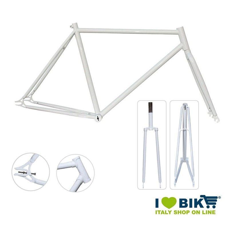 Telaio Fixed - 50 con congiunzioni Bianco lucido