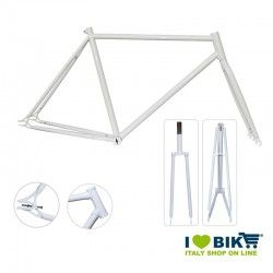 Fixed Frame - 56 with connectors glossy white