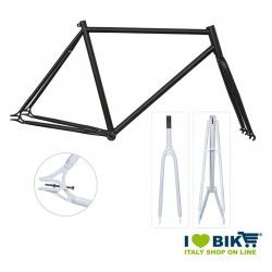 Fixed Frame - 56 TIG welds matt black
