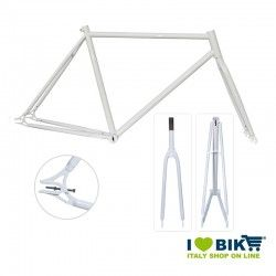 Fixed Frame - 56 TIG welds Glossy White