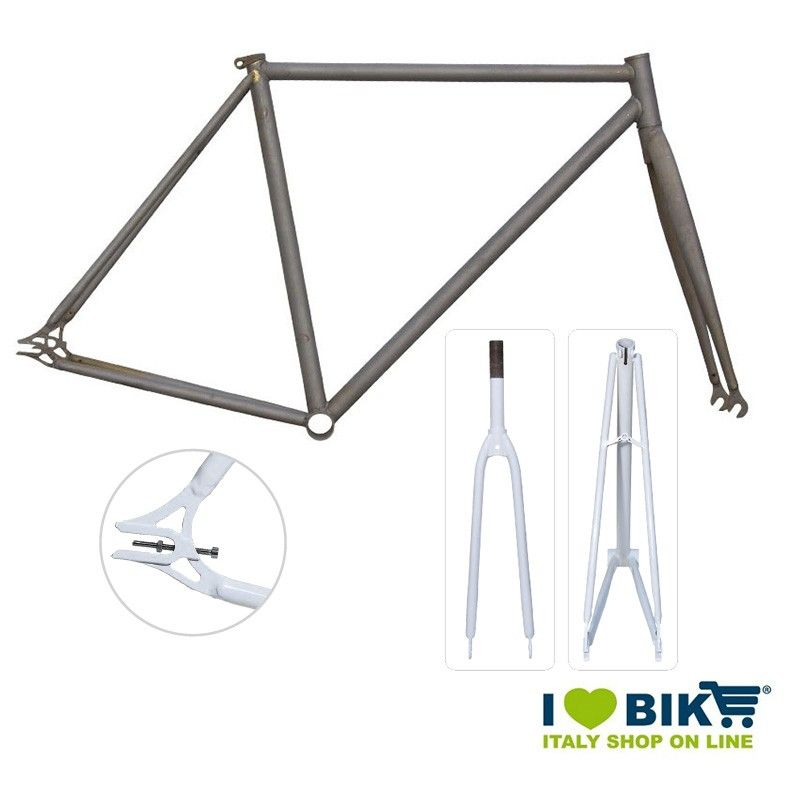 Fixed Frame - 56 TIG welds raw frame