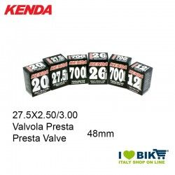 Inner Tube 27.5X2.50/3.00 Presta valve 48mm Kenda - 1