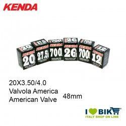 Inner Tube 20X3.50/4.0 American valve 48mm Kenda - 1