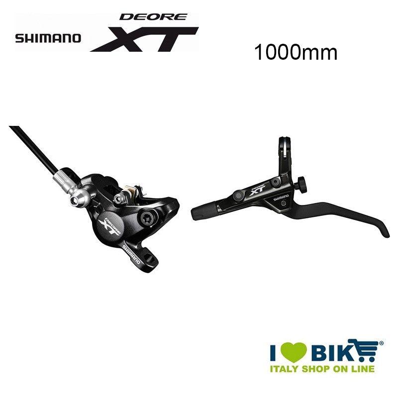 Disc brake lever 2.5 fingers Deore XT trekking BR-T 8000 1000mm black