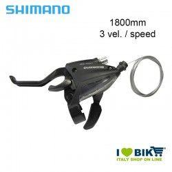 Brake/Shift lever 3 Speed, Shimano ST-EF 500, 1800mm, left