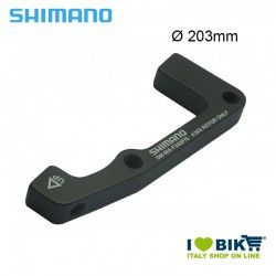 Adattatore Shimano ruota anteriore per freno disco 203mm