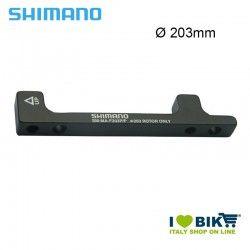 Adattatore Shimano ruota anteriore per freno disco 203mm BR-M 975