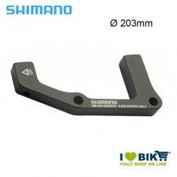 Adattatore Shimano ruota posteriore per freno disco 203mm Postmount