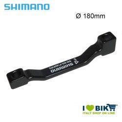 Adattatore Shimano ruota anteriore per freno disco 180mm Postmount