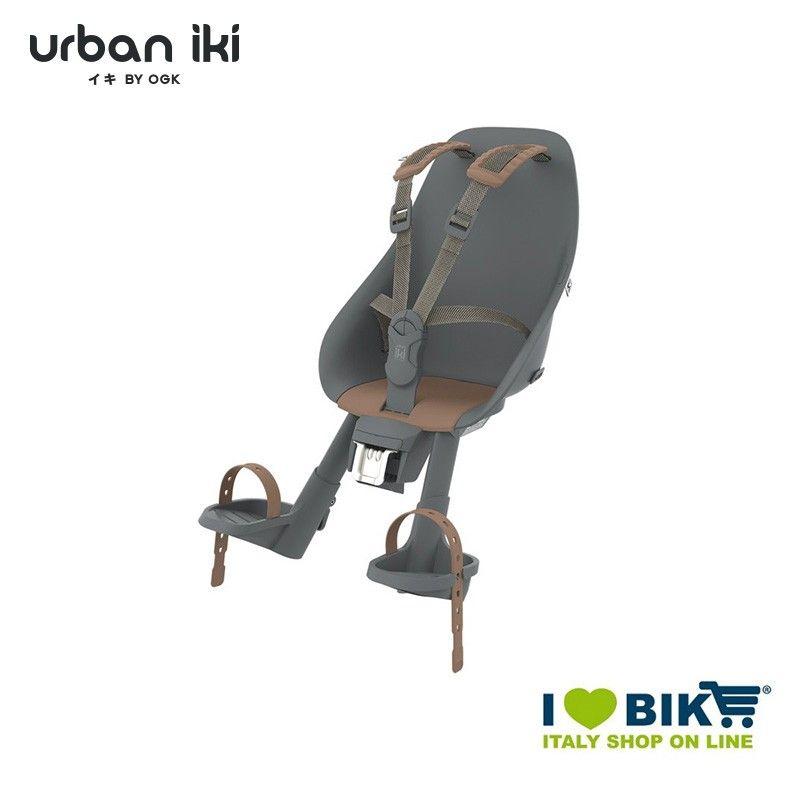 Front seat Urban Iki Bincho Black Kurumi brown