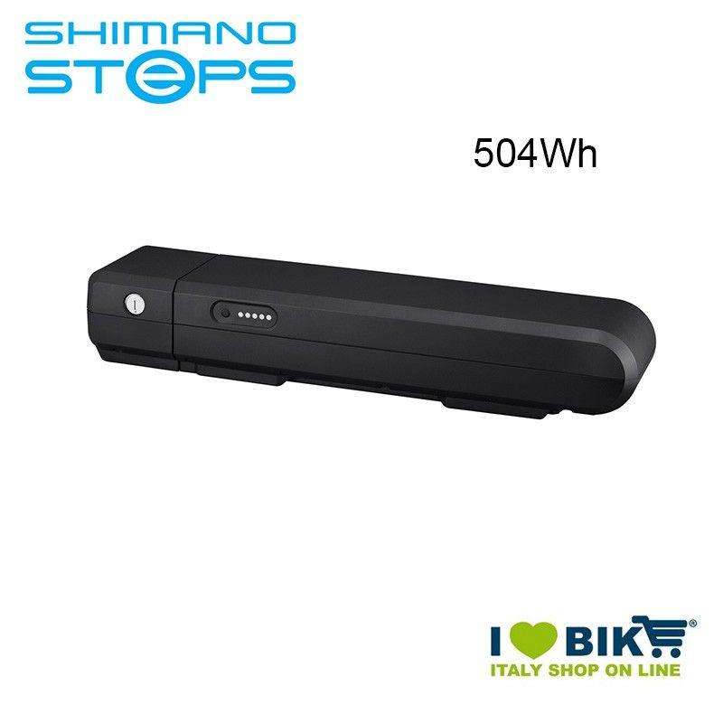 Batteria portapacchi BT-E6001 Shimano STEPS 36V 504Wh nera Shimano Steps - 1