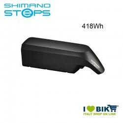 Batteria Tubo Obliquo BT-E6010 Shimano STEPS 36V 418Wh nera