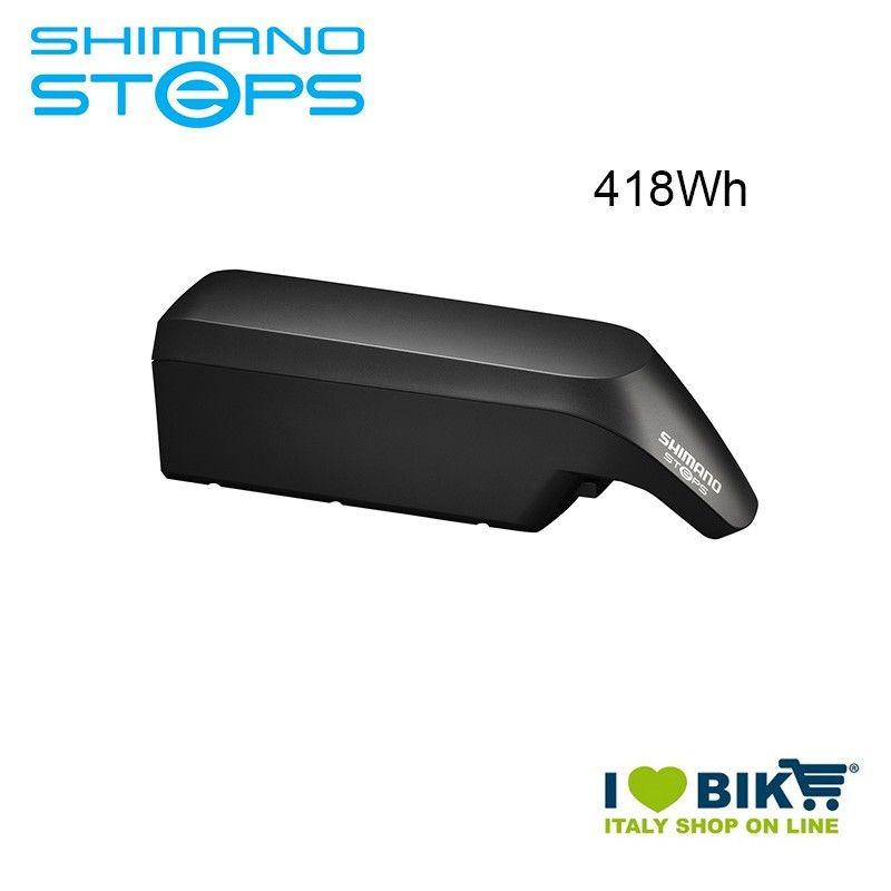 Batteria Tubo Obliquo BT-E6010 Shimano STEPS 36V 418Wh nera Shimano Steps - 1
