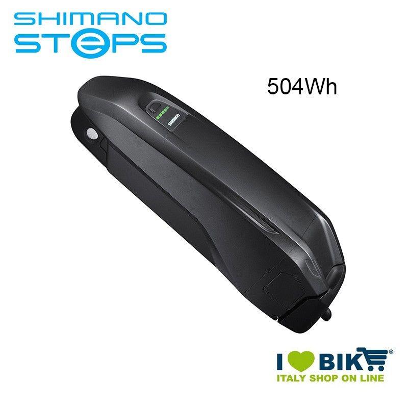 Batteria Tubo Obliquo BT-E8010 Shimano STEPS MTB 36V 504Wh nera Shimano Steps - 1