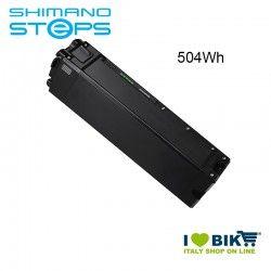 Batteria Tubo Obliquo BT-E8020 Shimano STEPS 36V 504Wh nera