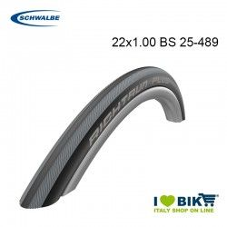 Tire WheelChair 22x1.00 RightrunPlus HS387 TwSkin black gray