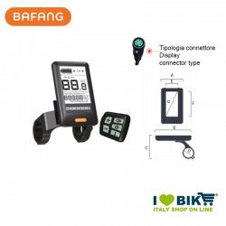 Display E-Bike Bafang HMI DP C10.UART 36V