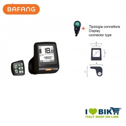 Display E-Bike Bafang HMI DP C07.UART 36V