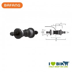 Sensore velocità Bafang SR PA11.32.S Jis, BSA scatola 68