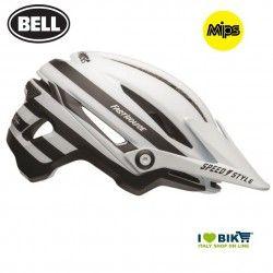 Sixer FASTHOUSE STRIPES MATTE WHITE/BLACK Bell Helmet