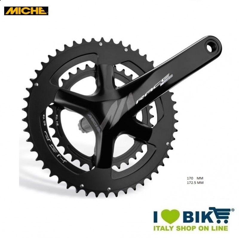 Crank (R + L) MICHE Compact RACE EVO MAX 34/50  HSP 170 MM Miche - 1