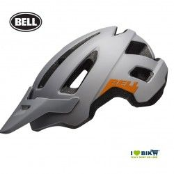 NOMAD MATTE GRAY/ORANGE Bell MTB Helmet