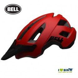 NOMAD MATTE RED/BLACK Bell MTB Helmet