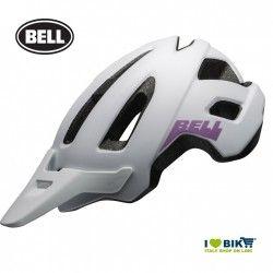 NOMAD W MATTE WHITE/PURPLE Bell MTB Helmet