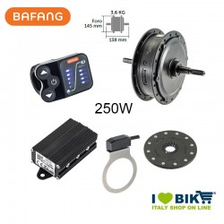 Bafang Kit motore posteriore 250W Filetto
