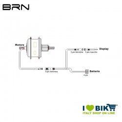Immediate Rear engine kit 250W BRN BRN - 2