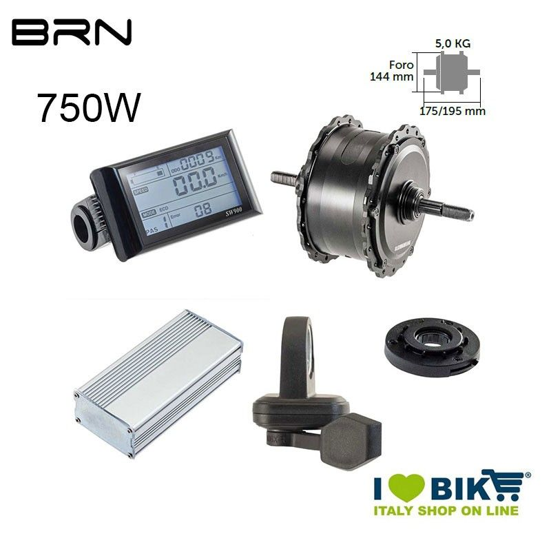 Rear engine kit 750W FATBIKE BRN