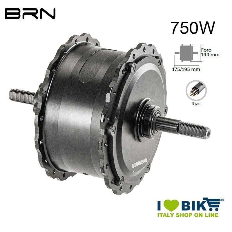 Rear engine FATBIKE 750W BRN