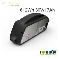 Batteria E-Bike Vision 612Wh compatibile Bosch