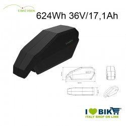 E-Bike Vision Battery 624Wh Bosch compatible EBike Vision - 1