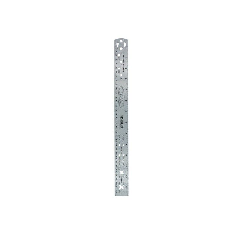 ruler for precise measurement of the length of the rays BRN - 1