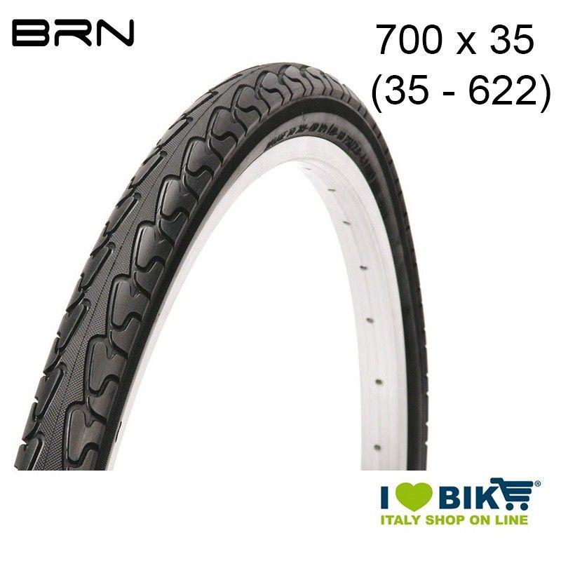 Copertura 700 x 35 City-Bike antiforo BRN - 1
