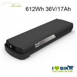 Batteria portapacchi E-Bike Vision 612Wh compatibile Bosch