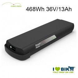 Batteria portapacchi E-Bike Vision 468Wh compatibile Bosch