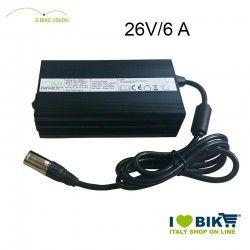 Caricabatteria E-Bike Vision per 26V - 6A
