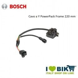 BOSCH Y cable for frame-mounted battery 220 mm